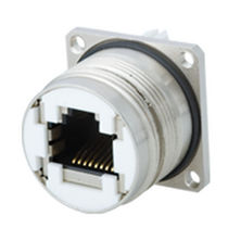 Data connector / RJ45 / circular / push-pull