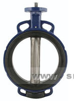 Butterfly valve / for water / wafer