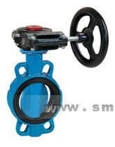 Butterfly valve / with handwheel / for beverages / wafer