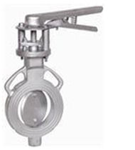 Butterfly valve / for water / metal