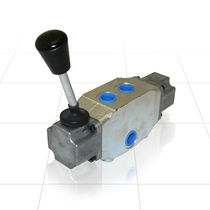 Spool hydraulic directional control valve / manual