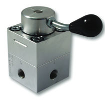 Manual hydraulic directional control valve / stainless steel