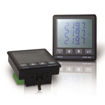 Three-phase meter / multifunction / electrical parameters / compact