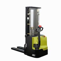 Electric stacker truck / walk-behind / for lifting