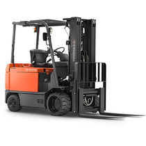 Electric forklift / ride-on / handling / 4-wheel