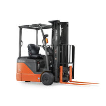 Electric forklift / ride-on / handling / 3-wheel