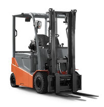 Electric forklift / ride-on / handling / pneumatic tire