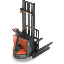Electric stacker truck / walk-behind / straddle