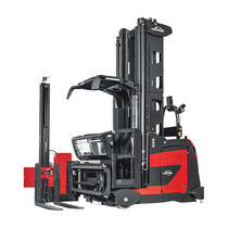 Electric forklift / AGV / narrow-aisle / for warehouses