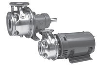 Water pump / with electric motor / centrifugal / single-stage