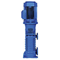 Water pump / with electric motor / centrifugal / multi-stage