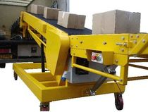 Belt conveyor / horizontal / vehicle loading