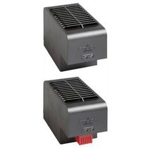 Fan resistance heater / in plastic / for electrical cabinets