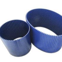 Toothed transmission belt / polyurethane / for food / endless