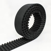 Synchronous transmission belt / rubber / industrial