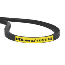 V transmission belt / rubber / industrial / for heavy-duty applications