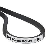V transmission belt / rubber / industrial / wrapped