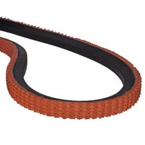 V transmission belt / rubber / industrial / conveying