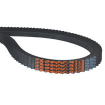 V transmission belt / rubber / for machine tools / agricultural