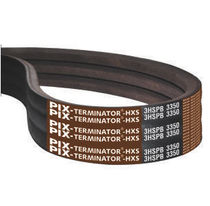 V transmission belt / rubber / for heavy-duty applications / for machines