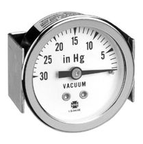 Pressure gauge / Bourdon tube / dial / for vacuum / process