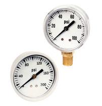 Pressure gauge / Bourdon tube / dial / process / chemical-resistant