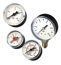 Pressure gauge / Bourdon tube / analog / process / brass