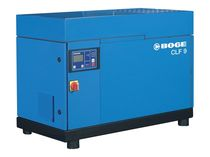 Air compressor / screw / oil-injected / stationary
