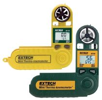Vane anemometer / pocket / hygrometer