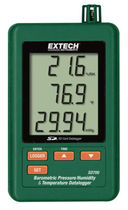 Temperature data-logger / pressure / with LCD display / programmable