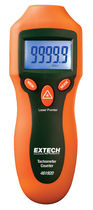 Laser tachometer / hand / with LCD display / robust