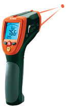 Probe thermometer / digital / mobile / with laser pointer