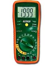 Digital multimeter / portable / with thermometer / voltage