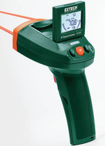 Infrared thermometer / digital / mobile / with laser pointer