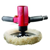 Rotary polisher / pneumatic / for all materials / portable
