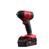 Pistol impact wrench / cordless / compact