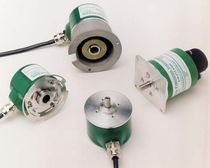 Incremental rotary encoder / optical / solid-shaft / IP64
