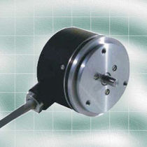 Absolute rotary encoder / optical / solid-shaft / single-turn