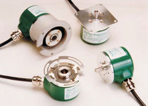 Absolute rotary encoder / optical / solid-shaft / IP64