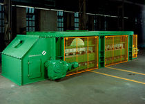 Volumetric feeder / weigh belt / continuous-motion / for solids