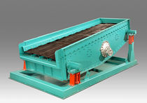 Circular vibrating screener / for bulk materials