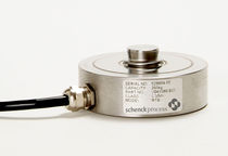 Torsion load cell / button type / compact / for hoppers