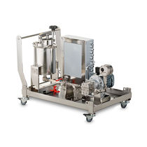 Fluid loss-in-weight feeder / weight / continuous / for the food industry