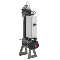 Pressure filtration unit / for compressed air / for water