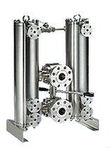 Liquid filter / double-basket / duplex / switchable
