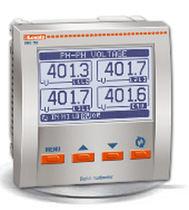 Digital multimeter / panel-mount / flush-mounted / industrial