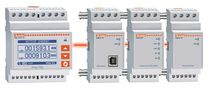 Single-phase electric energy meter / DIN rail