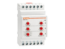 Current monitoring relay / DIN rail