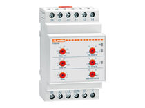 Protection relay / DIN rail / SPDT / programmable