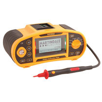 Non-trip loop tester / phase sequence / for electrical installations / multifunction